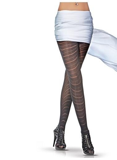 2'Li Desenli Külotlu Çorap-Pierre Cardin